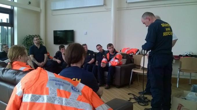 Portglenone host Community Rescue Service training