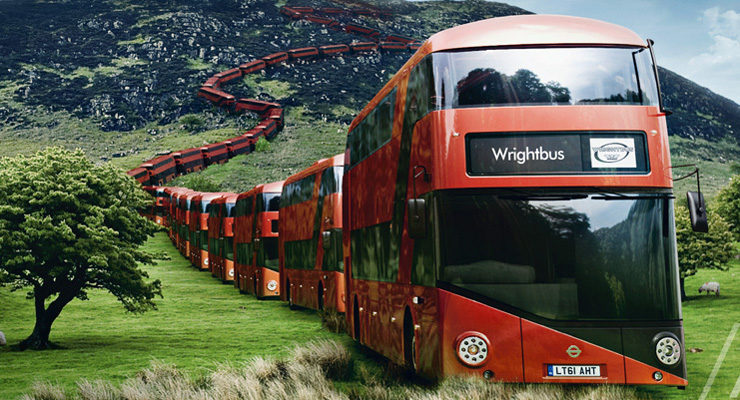 Wrightbus founder Dr William Wright gets top honour