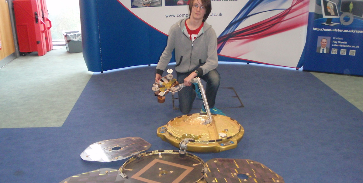 Ballymena Today youth team member visits Space Camp 2014