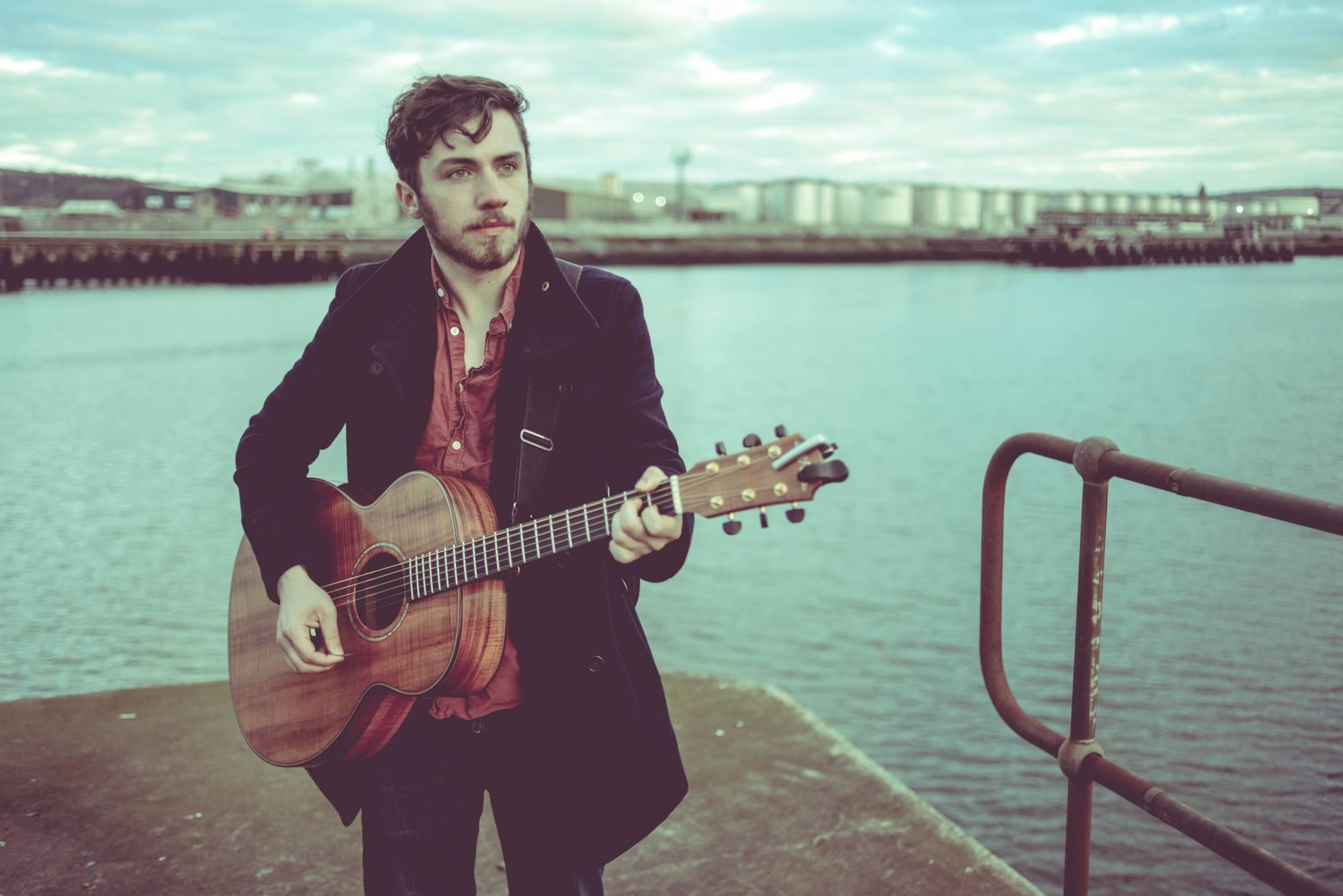 Owen McGarry at Red Star Music Ballymena