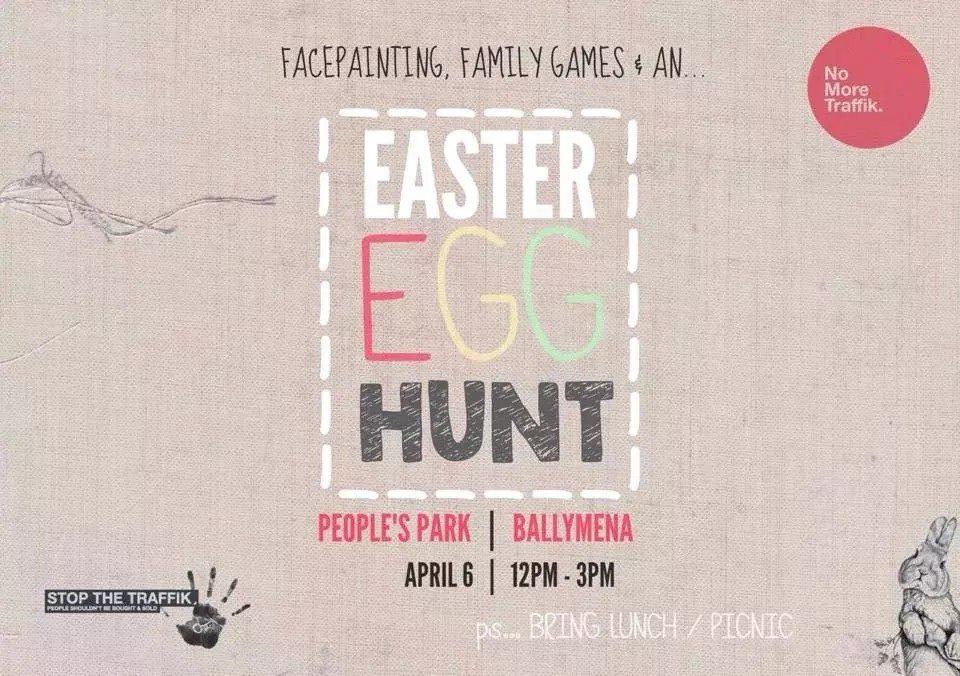 Easter Egg hunt – Peoples Park Ballymena