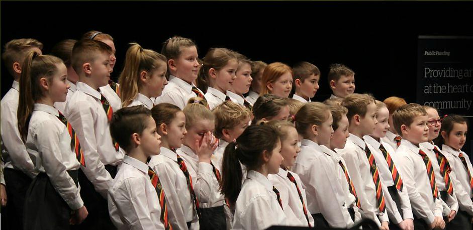 Ballykeel Primary School perform for School Choir of the Year