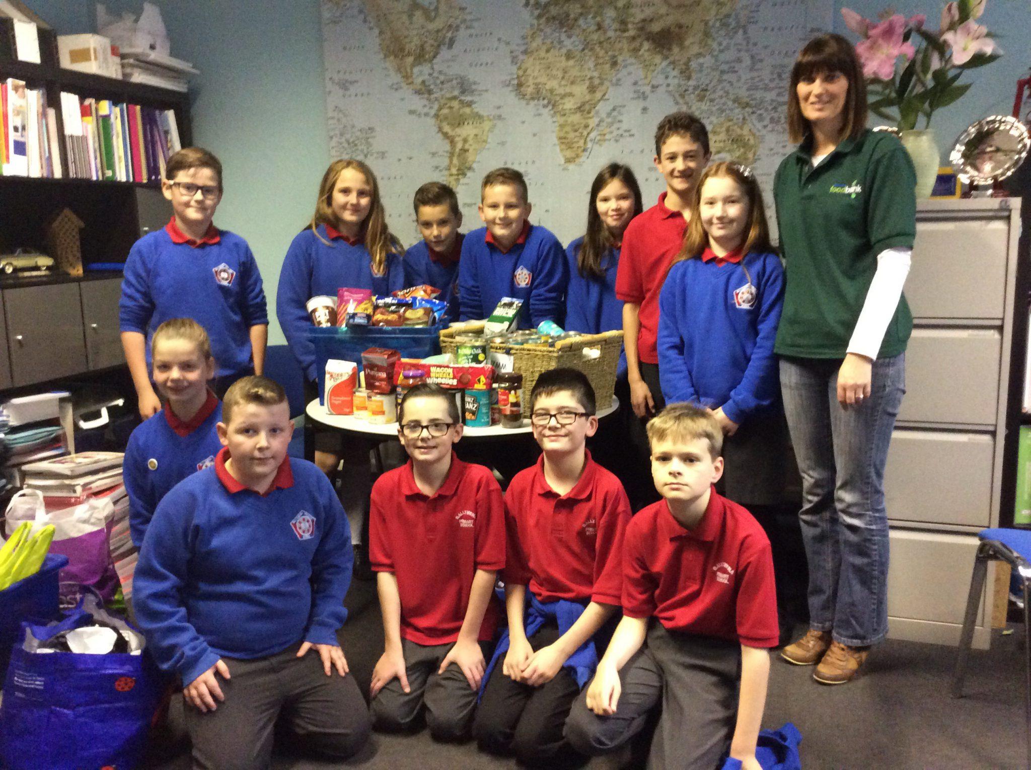 Ballymena Primary School Support Foodbank