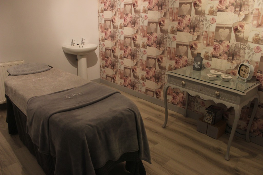 Ballymena beauticians massage room
