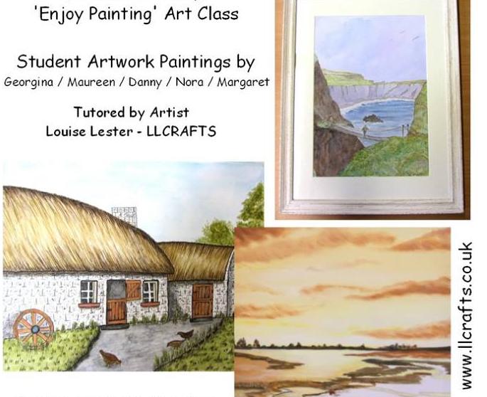 Painting workshops – Ballymena