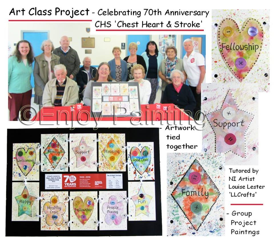 Chest Heart and Stroke 70th Anniversary
