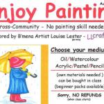 Enjoy Painting workshops – LL Crafts