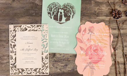 Ballymena company showcase beautiful Wedding invitations