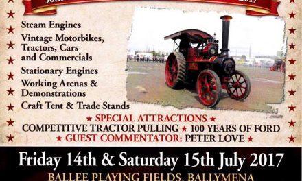 Festival of Steam & Transport 50th Anniversary – Ballymena