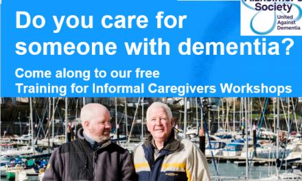 Training Workshops For Informal Caregivers | Alzheimer's Society