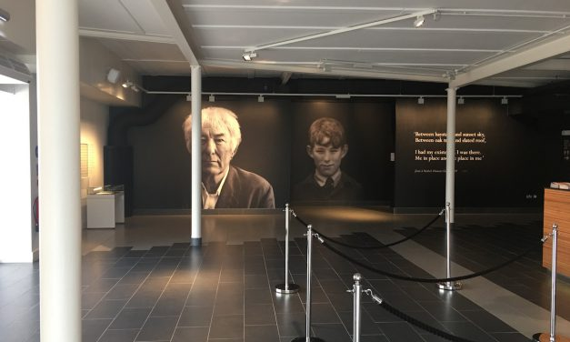 Ballymena Today visit the Seamus Heaney Homeplace