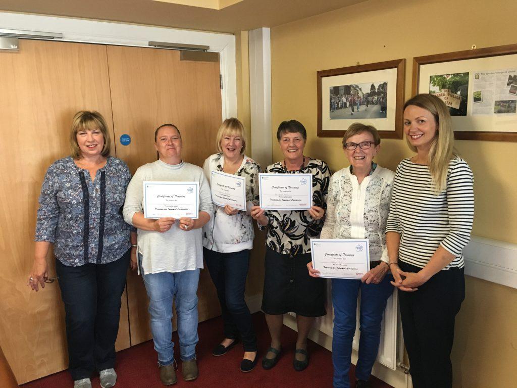 Alzheimer's Society Training Course in Broughshane