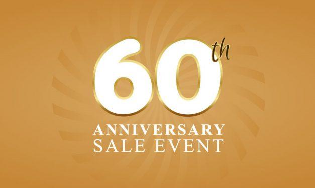 Robert Adair Jewellers 60th Anniversary Sale Continues