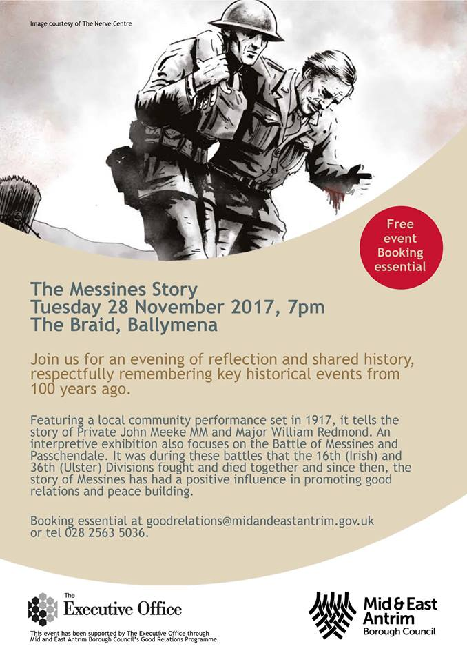 The Messines Story - Ballymena