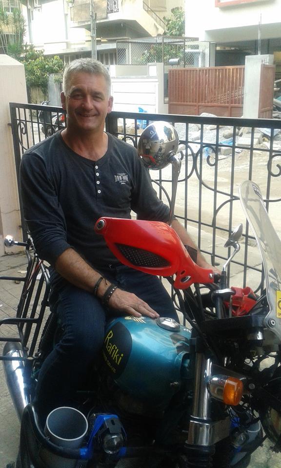 Ballymena couple charity ride across India
