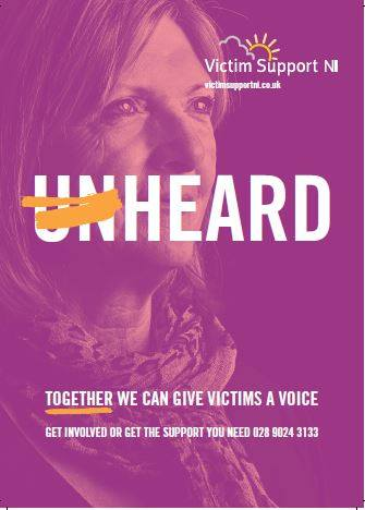 Victim Support NI launch new campaign