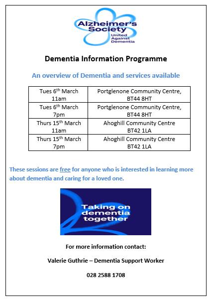 Alzheimer's Society Dementia Information Programme