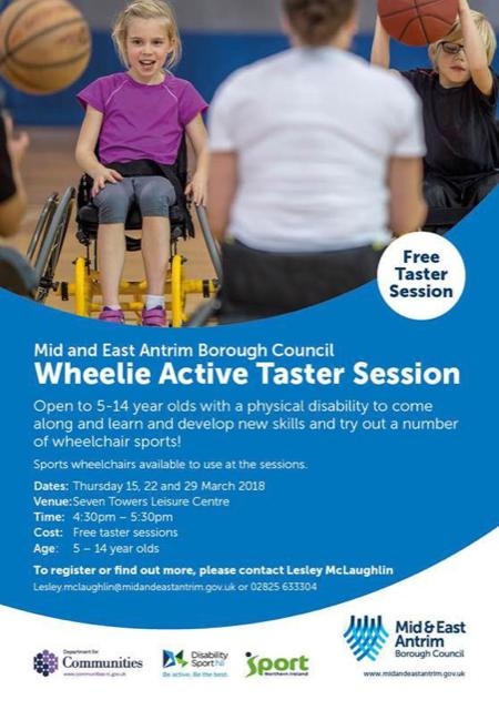Free Wheelie Active Taster Session – Ballymena