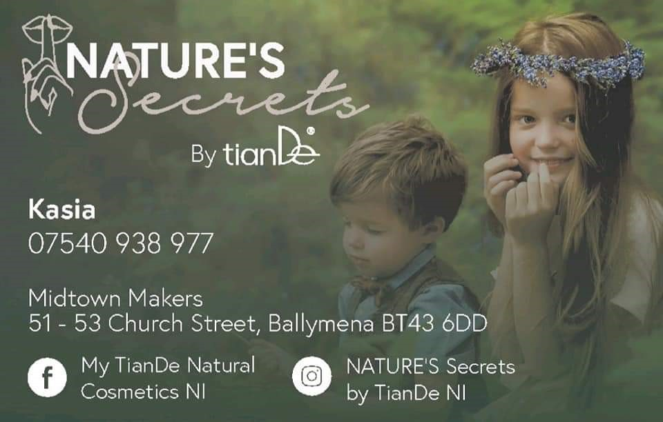 Nature's Secrets by TianDe available in Ballymena